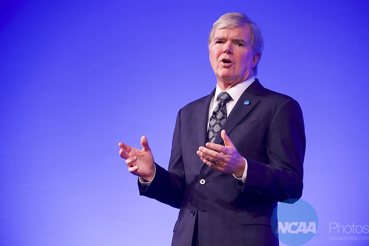 20 JAN 2017: The NCAA Association Luncheon takes place during the 2017 NCAA Convention at the Gaylord Opryland Resort and Convention Center in Nashville, TN.  Jamie Schwaberow/NCAA Photos  (Pictured:  Dr Mark Emmert)