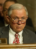 United States Senator Jeff Sessions (Republican of Alabama), listens as General John R. Allen, USMC, Commander, International Security Assistance Force and Commander, United States Forces Afghanistan, testifies on the situation in Afghanistan before the U.S. Senate Armed Services Committee on Capitol Hill in Washington, D.C. on Thursday, March 22, 2012..Credit: Ron Sachs / CNP