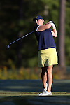 16 October 2016: Michigan's Emily White. The Final Round of the 2016 Ruth's Chris Tar Heel Invitational NCAA Women's Golf Tournament hosted by the University of North Carolina Tar Heels was held at the UNC Finley Golf Club in Chapel Hill, North Carolina.