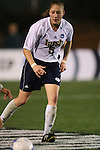 1 December 2006: Notre Dame's Amanda Cinalli. The University of Notre Dame Fighting Irish defeated Florida State Seminoles 2-1 at SAS Stadium in Cary, North Carolina in an NCAA Division I Women's College Cup semifinal game.