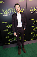 VANCOUVER, BC - OCTOBER 22: Alexander Calvert at the 100th episode celebration for tv's Arrow at the Fairmont Pacific Rim Hotel in Vancouver, British Columbia on October 22, 2016. Credit: Michael Sean Lee/MediaPunch