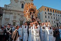 Processione Madonna del  Carmine alla Traspontina