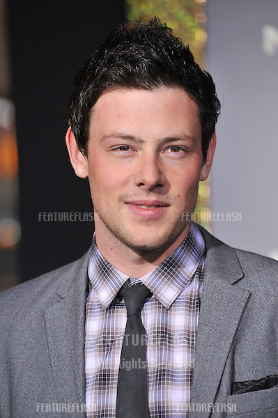 "Cory Monteith at the world premiere of ""New Year's Eve"" at Grauman's Chinese Theatre, Hollywood..December 5, 2011  Los Angeles, CA.Picture: Paul Smith / Featureflash"