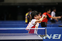 Miu Hirano, JANUARY 20, 2011 - Table Tennis : All Japan Table Tennis Championships, Women's Singles 3rd Round at Tokyo Metropolitan Gymnasium, Tokyo, Japan. (Photo by Daiju Kitamura/AFLO SPORT) [1045]..