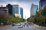 Mexico, Mexico City, Paseo de la Reforma