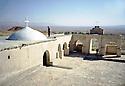Irak 2000.L'église de Mar Bena.    Iraq 2000.Mar Bena's church