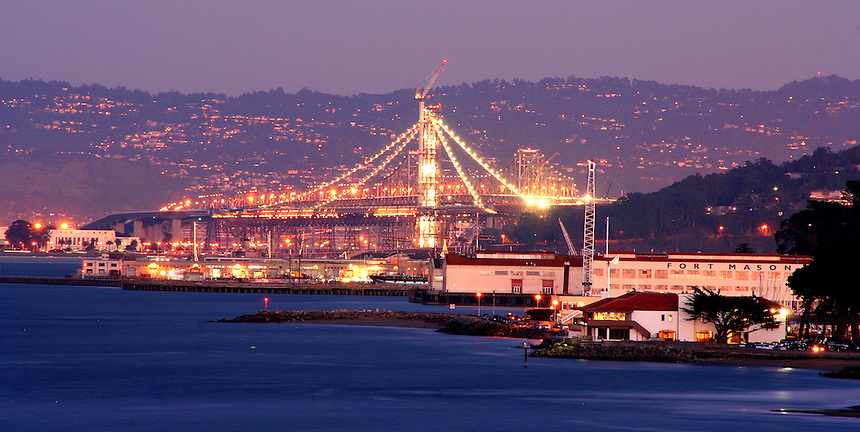 The Building of The Eastern Span of The San Francisco-Oakland Bay Bridge