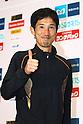 Arata Fujiwara (JPN), .February 26, 2012 - Marathon : .Tokyo Marathon 2012, Press Conference .at Tokyo Big Sight, Tokyo, Japan. .(Photo by Daiju Kitamura/AFLO SPORT) [1045]