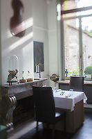 Belgique, Flandre-Occidentale, Bruges: Restaurant: Zeno , le chef Reinout Reniere, Restaurant  Zeno Vlamingstraat 53