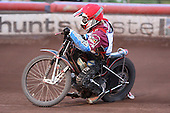 Heat 9: Adam Shields of Lakeside - Lakeside Hammers vs Wolverhampton Wolves - Elite League Speedway at Arena Essex Raceway - 16/05/11 - MANDATORY CREDIT: Gavin Ellis/TGSPHOTO - Self billing applies where appropriate - Tel: 0845 094 6026