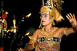 Indonesia: Bali, traditional Monkey Dance, dancer, Denpasar, photo: yogyin101  .Photo copyright Lee Foster, www.fostertravel.com, 510/549-2202, lee@fostertravel.com