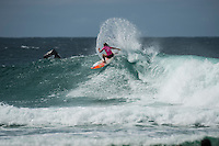 Snapper Rocks, COOLANGATTA, Queensland/AUS (Tuesday, March 15, 2016) Courtney Conlogue (USA) - The Quiksilver and Roxy Pro Gold Coast, the opening stop on the 2016  WSL Championship Tour recommenced at 7:35am this morning with men&rsquo;s and women&rsquo;s Round 4 and the women&rsquo;s Quarterfinals called on in clean three-to-five foot (1 - 1.5 metre) waves at Snapper Rocks.<br /> <br /> There was a break during the high tide with only two heats of the men's Round five not completed.<br /> <br />  .Photo: joliphotos.com