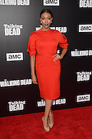 HOLLYWOOD, CA - OCTOBER 23: Sonequa Martin-Green at AMC Presents Live, 90-Minute Special Edition of 'Talking Dead' at Hollywood Forever on October 23, 2016 in Hollywood, California. Credit: David Edwards/MediaPunch