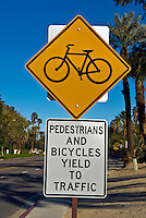 Pedestrians And Bicycle, Restrictions Signs