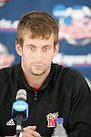 08 December 2005: Maryland's Chris Lancos during a press conference at SAS Stadium in Cary, North Carolina in preparation for the NCAA Men's Division I College Cup semifinals to be played the following day.