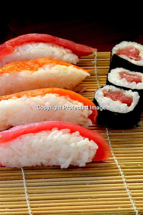 Stock photo of sushi