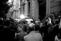 Roma Maggio 1999<br /> I funerali di Massimo D'Antona ucciso dalle Brigate Rosse-PCC