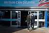 Conservative Party Conference, ICC, Birmingham, Great Britain <br /> Day 1<br /> 7th October 2012 <br /> <br /> <br /> Rt Hon David Cameron MP<br /> Leader of the Conservatives and the British Prime Minister arriving at the conference centre with his wife Samantha Cameron <br />  <br /> <br /> <br /> Photograph by Elliott Franks<br /> <br /> Tel 07802 537 220 <br /> elliott@elliottfranks.com<br /> <br /> &copy;2012 Elliott Franks<br /> Agency space rates apply