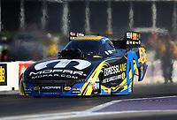 Apr 21, 2017; Baytown, TX, USA; NHRA funny car driver Matt Hagan during qualifying for the Springnationals at Royal Purple Raceway. Mandatory Credit: Mark J. Rebilas-USA TODAY Sports
