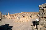 Jordan, Jerash. The South Tetrakionia&amp;#xA;<br />