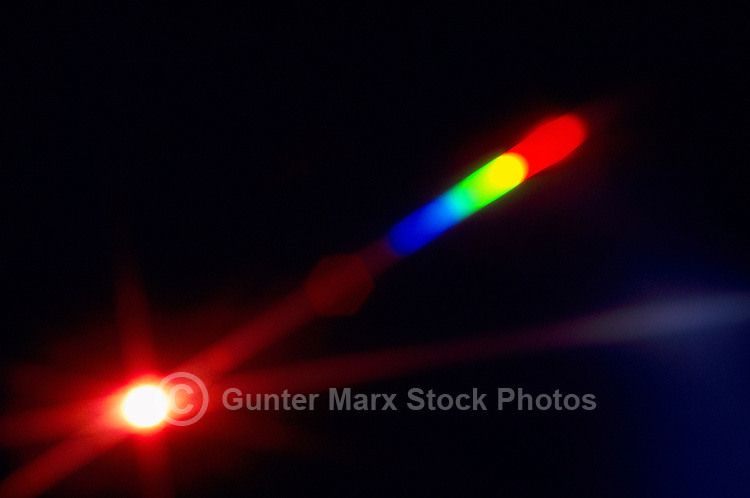 Abstract Starburst / Star Burst and Dispersion of Light