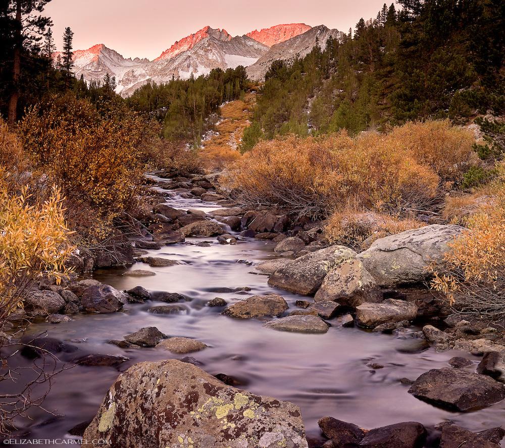 Autumn Sunrise, Rock Creek