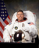 Houston, TX - April 5, 2004 -- Astronaut Michael E. Fossum, mission specialist, STS-121, a return-to-flight test mission and assembly flight to the International Space Station.  The mission is scheduled to launch no earlier than July, 2006..Credit: NASA via CNP
