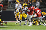 Ole Miss vs. LSU running back Spencer Ware (11)  at Vaught-Hemingway Stadium in Oxford, Miss. on Saturday, November 19, 2011.