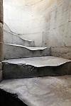 walking carved steps