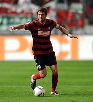 FUSSBALL   1. BUNDESLIGA  SAISON 2011/2012   1. Spieltag FC Augsburg - SC Freiburg            06.08.2011 Heiko Butscher (SC Freiburg)