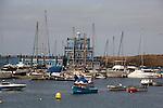 Las Galletas harbour,Tenerife, Canary Islands, Spain