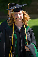 Megan Malgeri, M.D. Class of 2012 commencement.