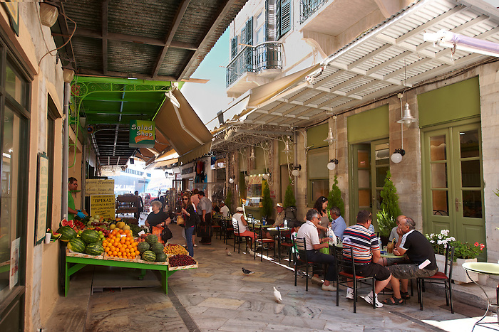The Food Market, Ermoupolis, Syros Island [ ????? ] , Greek Cyclades Islands