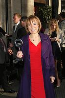 Sian Williams at The 2013 TRIC Awards Departures at The Great Room The Dorchester Hotel Park Lane London 13 March 2013