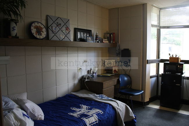Dorm room in Blanding 1 in Lexington, Ky. Photo by Quianna Lige | Staff