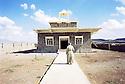 Irak 2000. Eglise de Levo, a christian village near Zakho.   Iraq 2000. The church of Levo, christian village, near Zakho