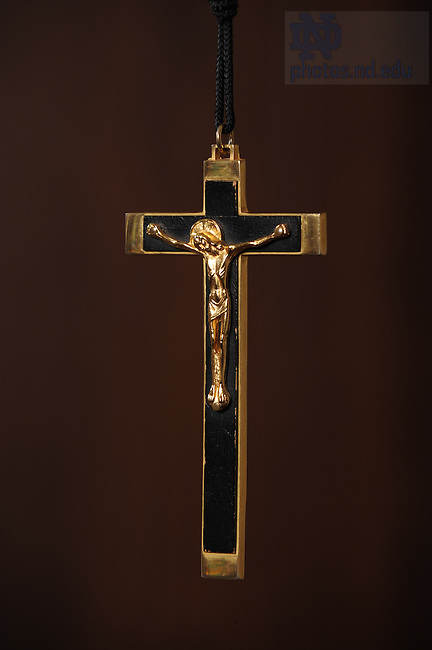 Crucifix for cover of Choices..Photo by Matt Cashore/University of Notre Dame