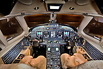 Brokerage Shoot of Cessna Citation X Twin Turbofan Engine Aircraft