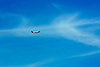 Digital.  19/06/07 -  Plane in a blue sky-  (c) Vicens Giménez