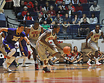 "Ole Miss' Murphy Holloway (31) vs. Lipscomb at the CM. ""Tad"" Smith Coliseum in Oxford, Miss. on Friday, November 23, 2012."