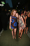 "Virginia Madsen and Madeline Carroll Attend Wrap Party for the Upcoming Film ""Summer at Dog Dave's"" Directed By Rob Reiner at Greenhouse, NY   8/13/11"