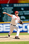 5 September 2005: Chad Cordero, pitcher for the Washington Nationals, on the mound against the Florida Marlins. The Nationals defeated the Marlins 5-2 at RFK Stadium in Washington, DC, maintaining a close race for the NL Wildcard spot. Mandatory Photo Credit: Ed Wolfstein.