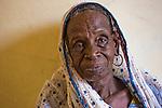 Binta Moussa, a Fulani woman, has come from the Djibo area of eastern Burkina Faso to visit relatives in the capital city of Ouagadougou.