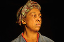 London, UK. 05.01.2016. Two Shed Theatre's AFRICAN GOTHIC, by Reza de Wet, directed by Roger Mortimer and Deborah Edgington, opens at Park Theatre. Picture shows: Lesley Ewen (Alina). Photograph © Jane Hobson.