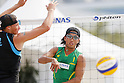 Shinya Inoue, MAY 6, 2012 - Beach Volleyball : JBV Tour 2012 Sports Club NAS Open  Women's final at Odaiba Beach, Tokyo, Japan. (Photo by Yusuke Nakanishi/AFLO SPORT) [1090]