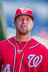 7 September 2014: Washington Nationals pitcher Blake Treinen walks the dugout prior to a game against the Philadelphia Phillies at Nationals Park in Washington, DC. The Phillies fell to the Nationals 3-2 in their final meeting of the season. Mandatory Credit: Ed Wolfstein Photo *** RAW (NEF) Image File Available ***
