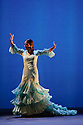 London, UK. 16.02.2015. Flamenco Festival London 2015 kicks off with GALA FLAMENCA, at Sadler's Wells. The company comrises: Antonio Canales, Carlos Rodriguez, Karime Amaya, Carmen Coy, Lucia Campillos. Photograph © Jane Hobson.