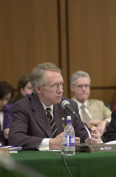 Reid H.2(DG) 051800 -- Harry Reid, D-NV., during the Senate Appropriations Committee markup.