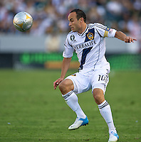 CARSON, CA - June 17, 2012: LA Galaxy forward Landon Donovan (10) during the LA Galaxy vs Portland Timbers match at the Home Depot Center in Carson, California. Final score LA Galaxy 1, Portland Timbers 0.