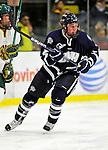 6 December 2009: University of New Hampshire Wildcats' defenseman Connor Hardowa, a Freshman from Edmonton, Alberta, in action against the University of Vermont Catamounts at Gutterson Fieldhouse in Burlington, Vermont. The Wildcats defeated the Catamounts 5-2 in the Hockey East matchup. Mandatory Credit: Ed Wolfstein Photo